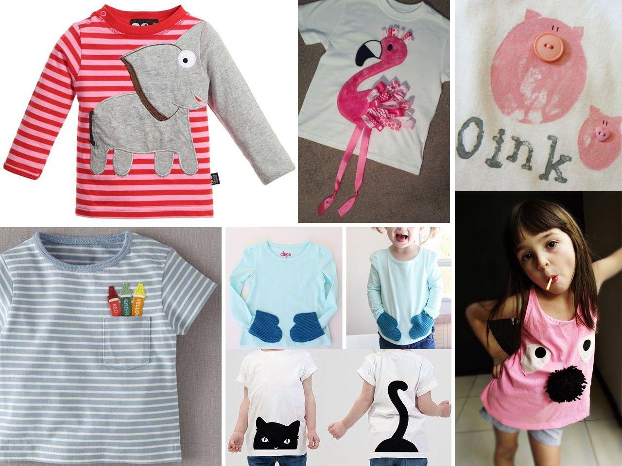 Descubre C Mo Hacer Camisetas Originales Hacer Camisetas  ~ Ideas Para Decorar Camisetas Infantiles
