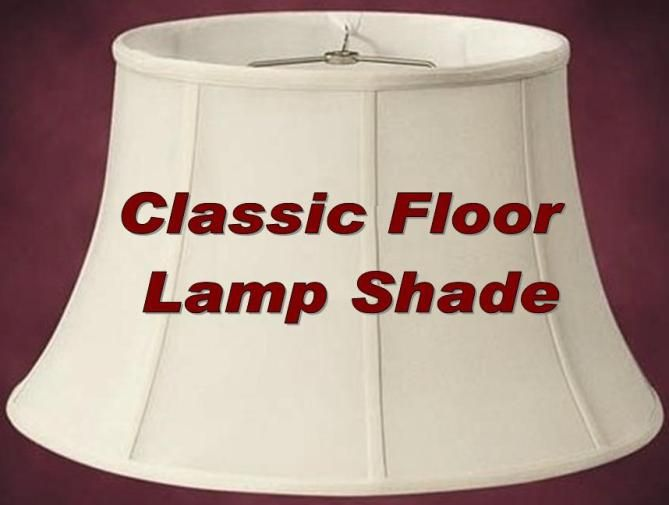 Classic 6 Way Floor Lamp Shade Floor Lamp Shades Lamp Shade Large Lamp Shade