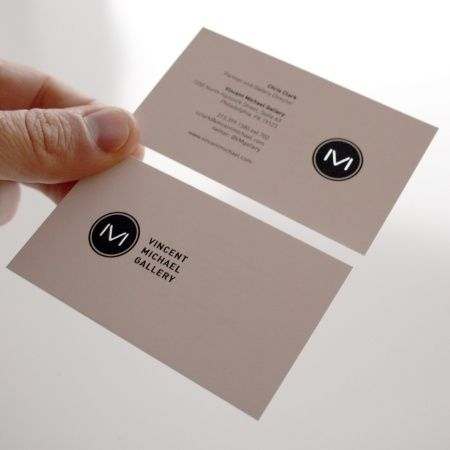Vm Monogram Business Card Visitenkarte Creative Paper
