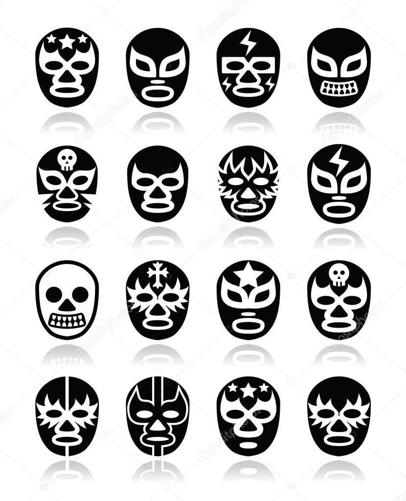 Descargar Máscaras De Lucha Libre Mexicana Lucha Iconos