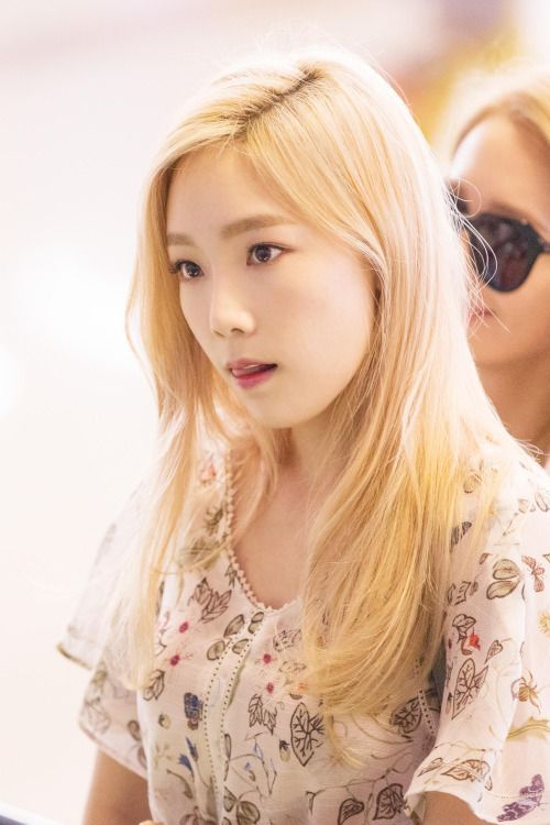 SNSD - Kim TaeYeon 김태연 금발머리 #태연 #소녀시대