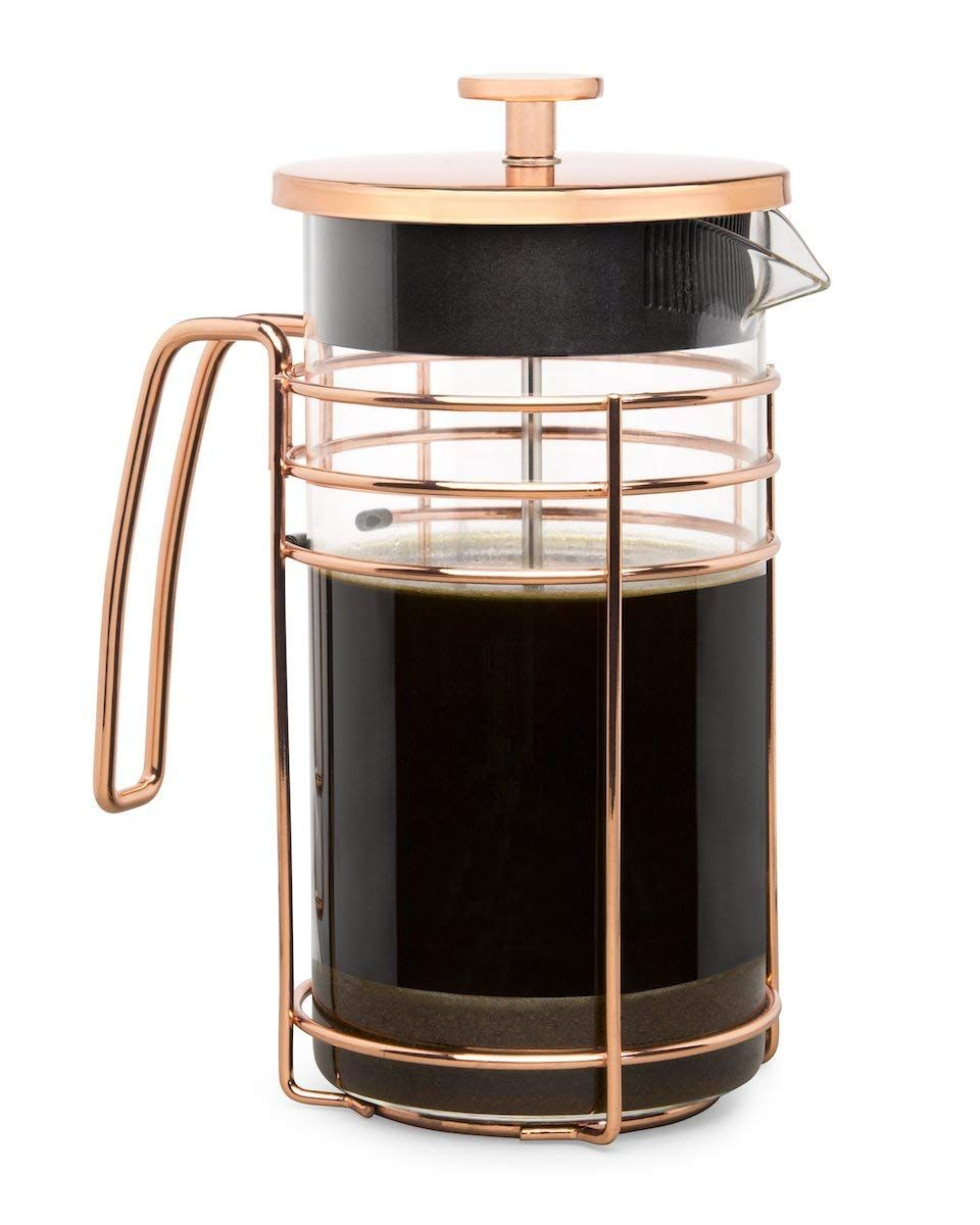 Cantankerous chef rose gold french press large 8 cup