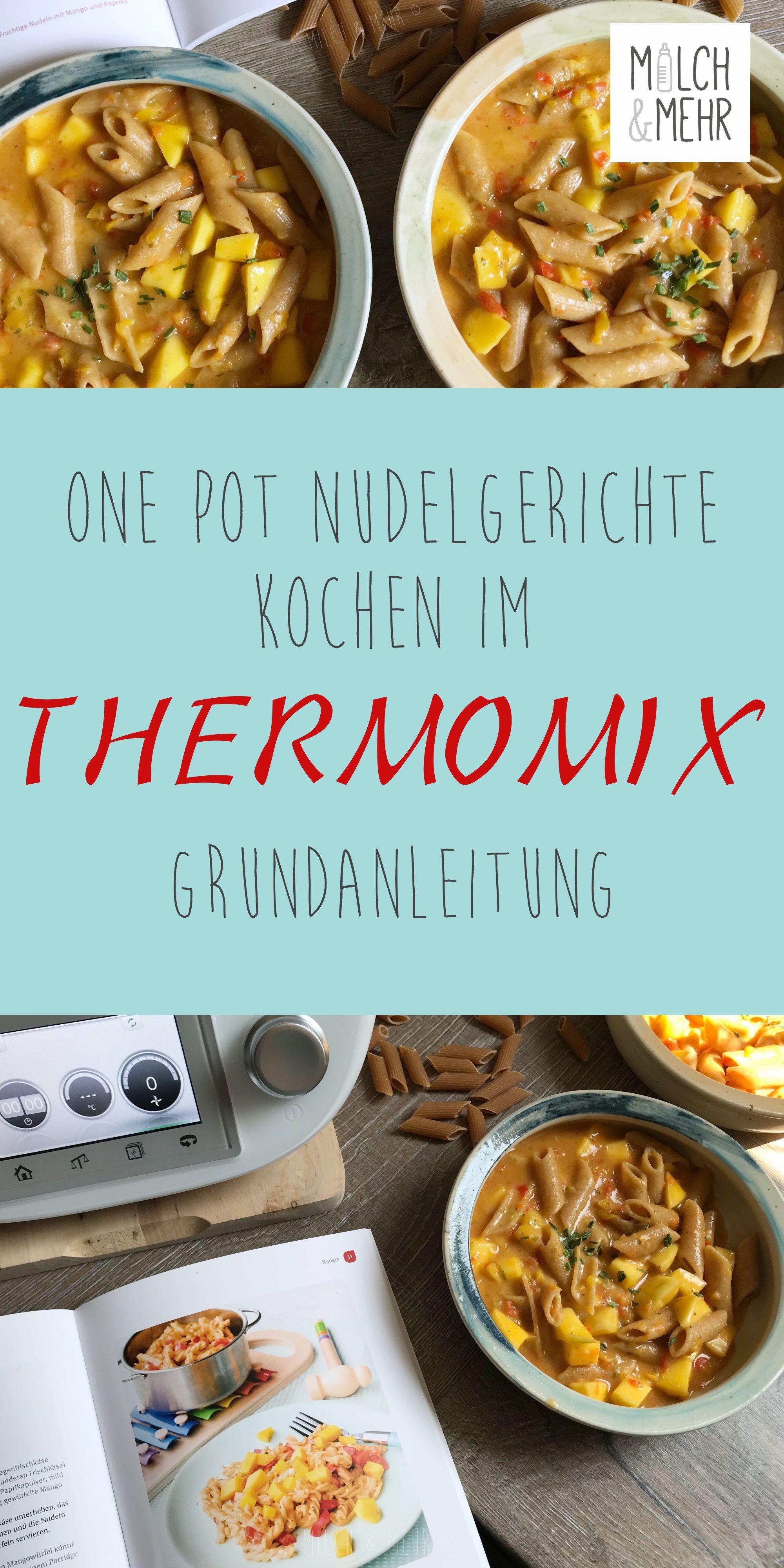 One Pot Pasta mit dem Thermomix #onepotpastarecettes