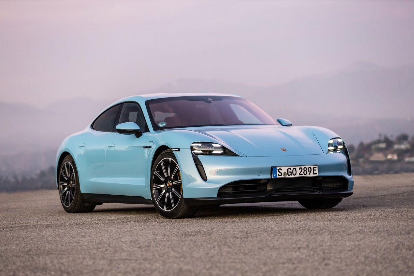 10 Longest Range Electric Cars Of 2021 Kelley Blue Book Porsche Taycan Porsche Hatchback Cars