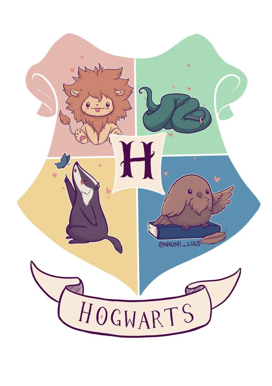 769fdb2ca Cute Hogwarts houses! | Harry potter in 2019 | Harry potter art ...