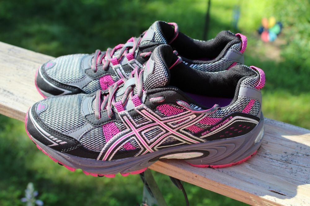 asics trainers womens size 4