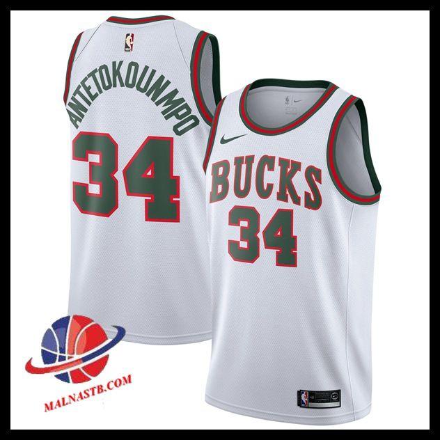 Maillots Nba Pas Cher Maillot Nba Basket Milwaukee Bucks 2017 18