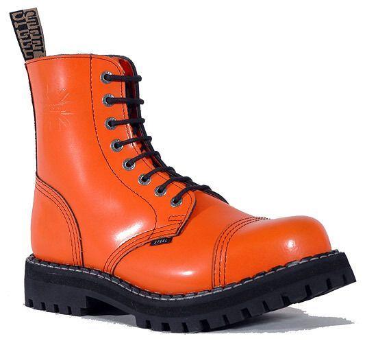 Steel 8 dierkové - oranžové