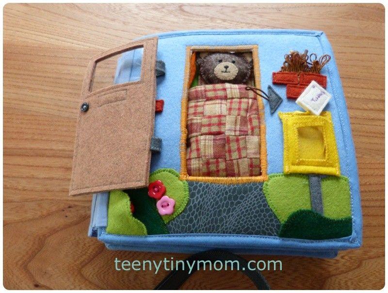 b cher f r babys und kleinkinder aus stoff und filz selbst. Black Bedroom Furniture Sets. Home Design Ideas