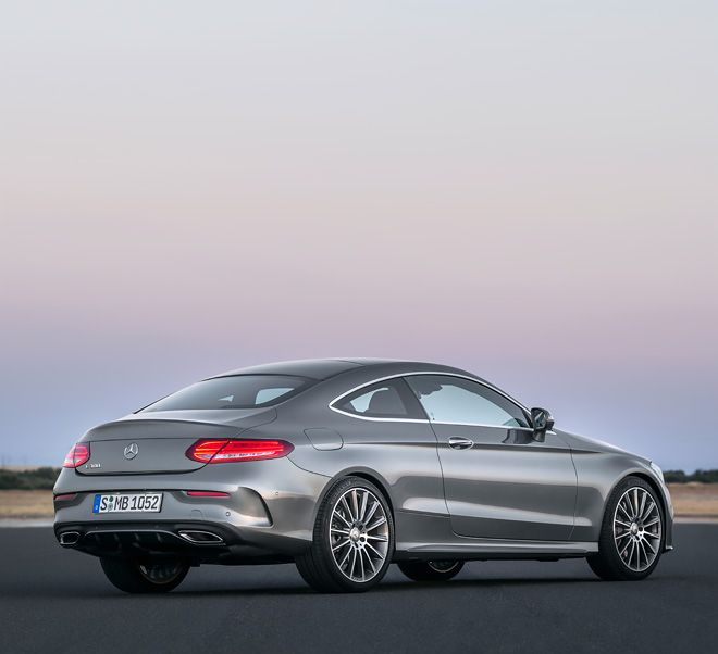 Instantly Thrilling. The New C-Class Coupé.