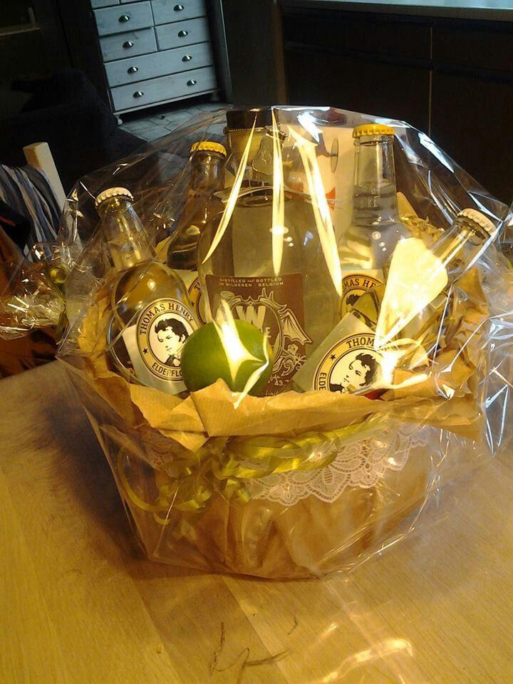 Gin Tonic Gift Basket Voor De Liefhebbers Diy Plannen