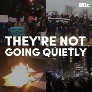 Protestors across America are sending a message  theyre not going to quietly accept a Do #news #alternativenews