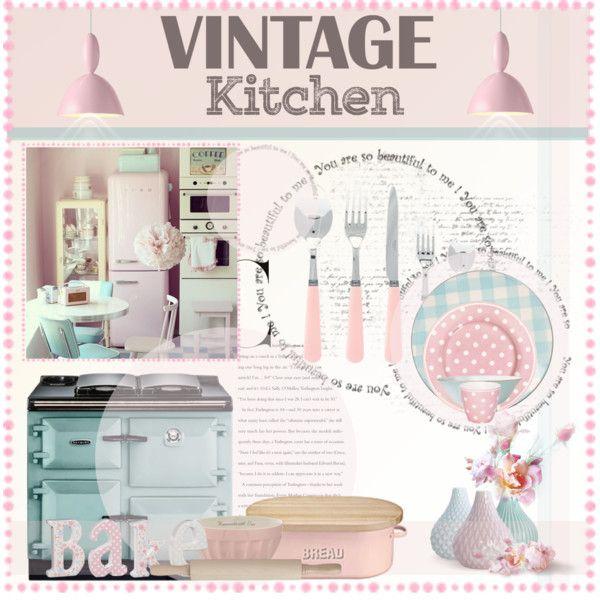 Vintage Pastel Kitchen!