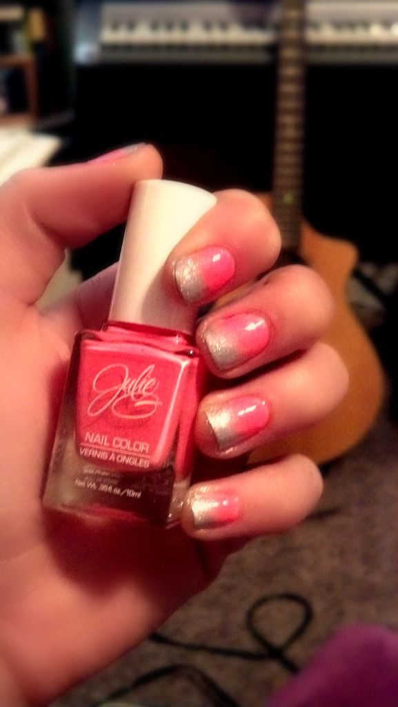 2nd attempt at fading nail polish! | love! | Pinterest | Fading ...