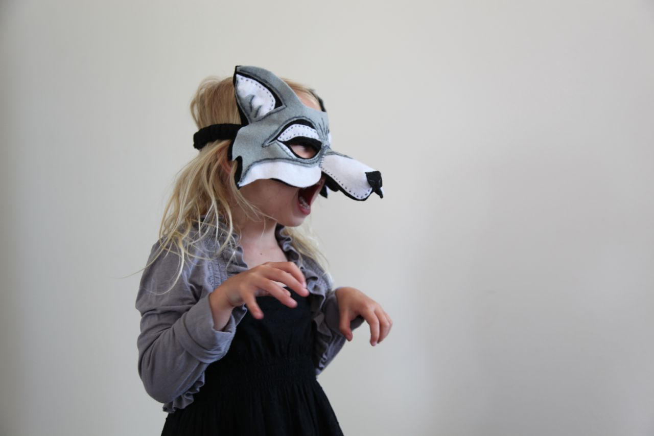 wolf costume for little red riding hood party