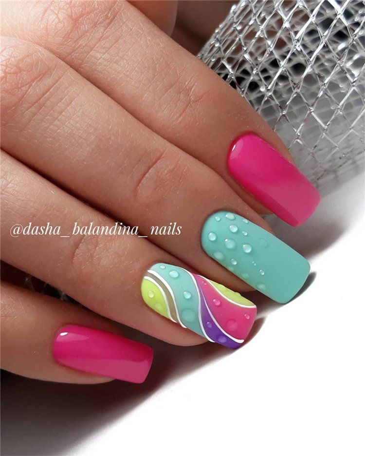 60 Spring Nail Ideas For Exceptional Look 2020 Nail Designs