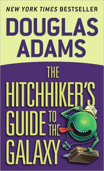 Douglas Adams' classic science-fiction novel