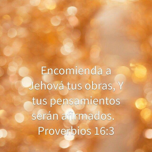 Encomienda tus pensamientos a Dios
