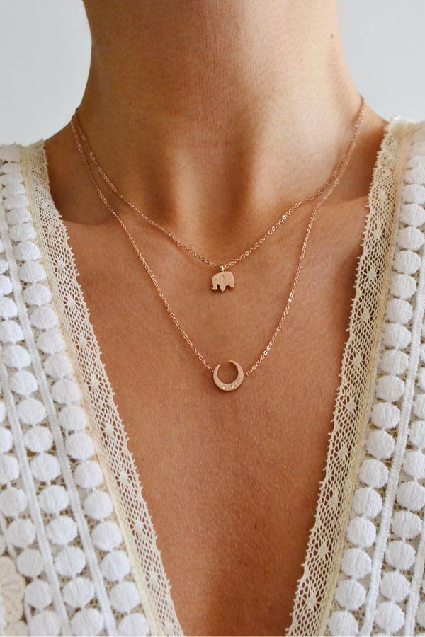 Lucky Elephant Necklace | STYLEADDICT.COM.AU