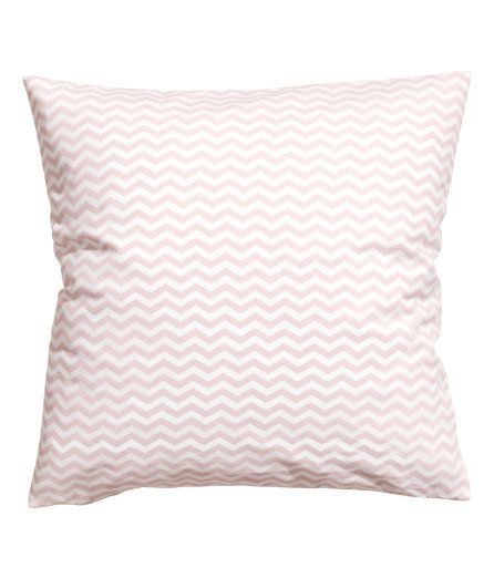 Check this out! Cushion cover in woven fabric with a printed pattern. Concealed zip. Size 20 x 20 in. - Visit hm.com to see more.