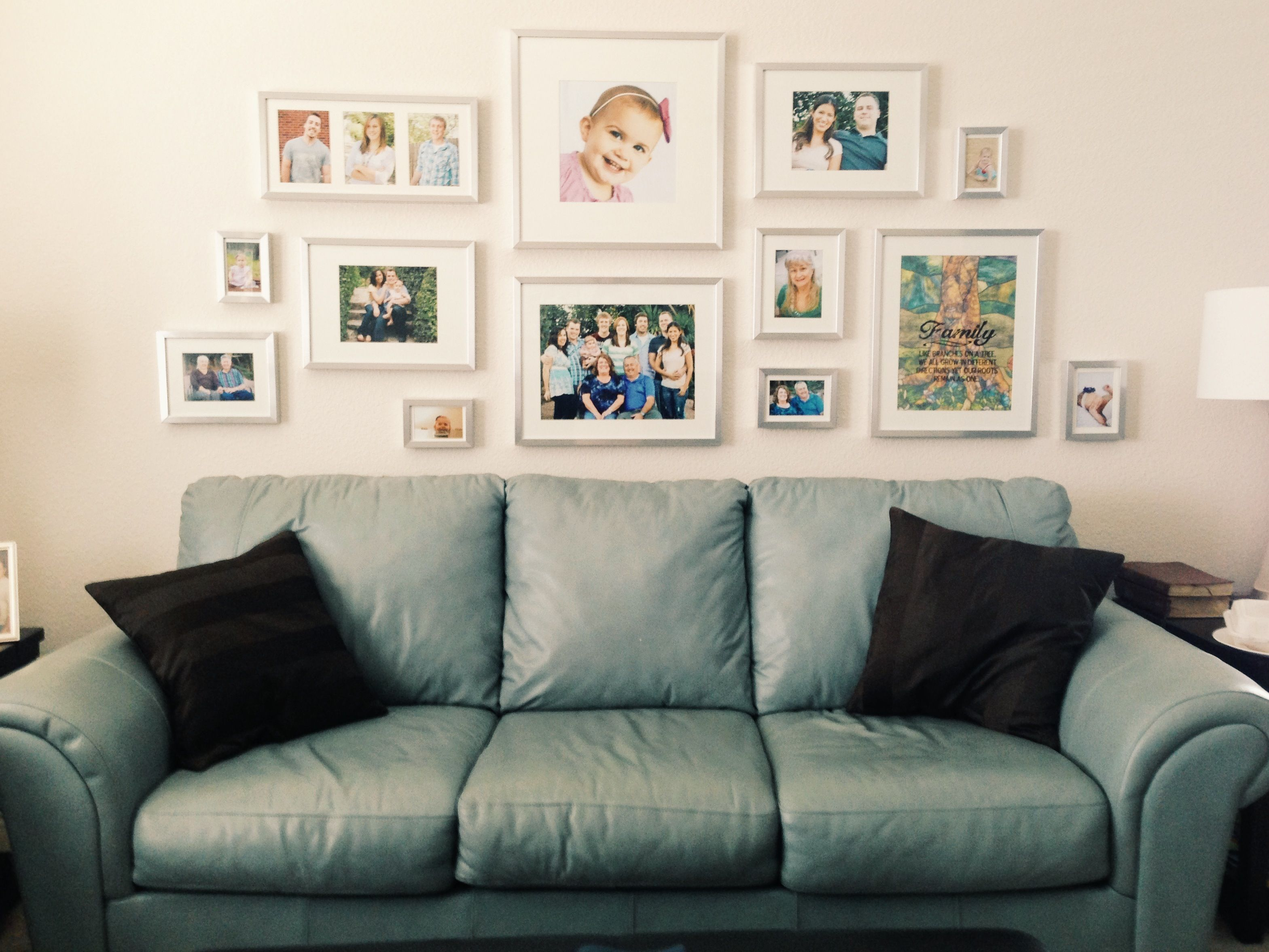 Ikea frame collage. | Realistic Bedroom Ideas | Pinterest ...