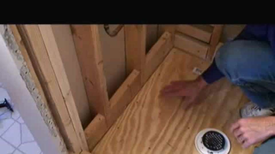 How To Install Mortar Shower Pan Membrane Liner Aol On Shower