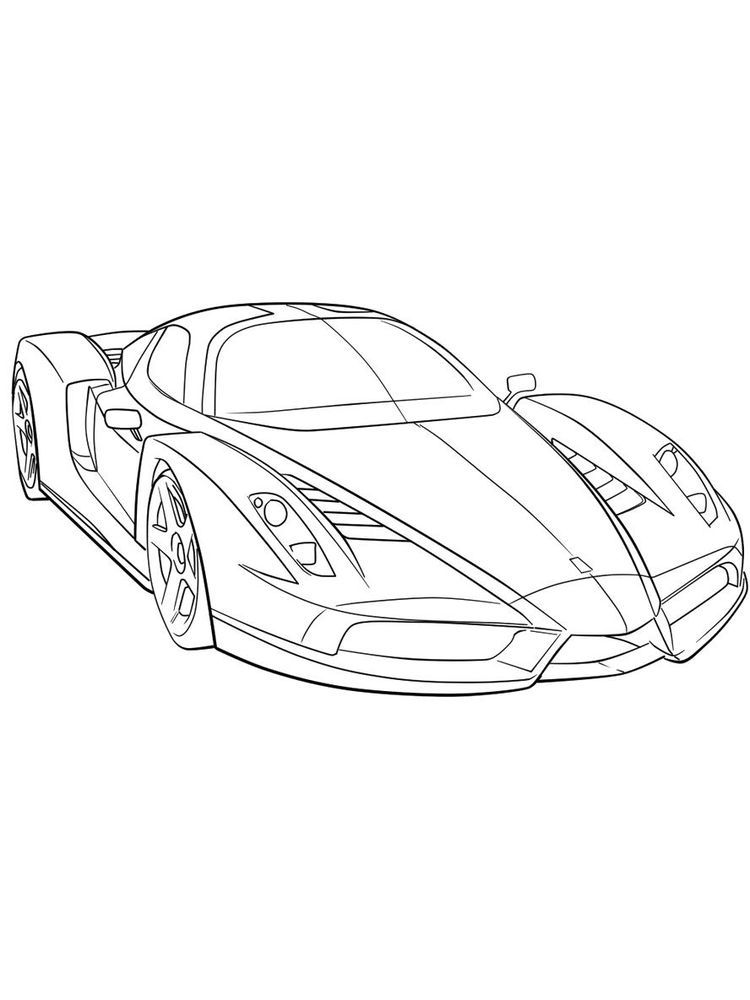 Ferrari F12 Coloring Pages Ferrari Is One Of The Manufacturers Of Supercar Cars Originating From Italy And Was Founded In 19 In 2020 Ferrari F1 Ferrari Coloring Pages