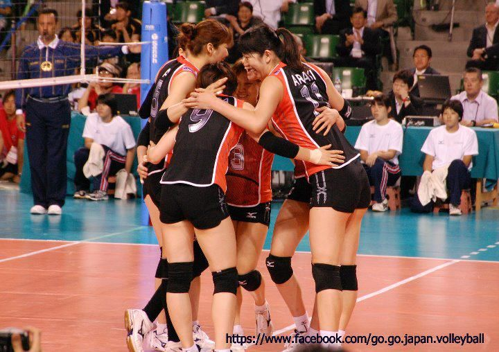 Volleyball National Team Of Japan Volleyball Teams Volley