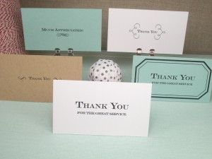 Printable  Thank You Business Cards Genius These Are Great