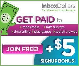 Get 5 dollars free to start with inbox dollars