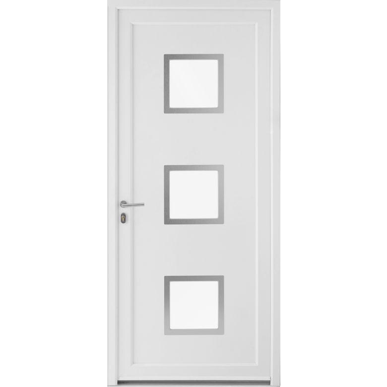 Porte D Entree Pvc Lothey Avec Barillet H 215 X L 80 Droite Lapeyre Reduction Promotion Et Codes Promo En 2020 Lapeyre Barillet Et Bloc Porte