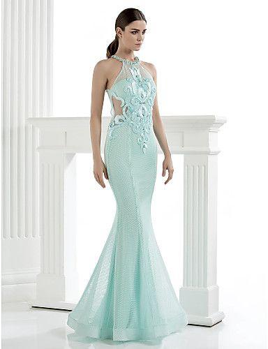 7c948f50b Vestido Largo Alta Costura Corte Sirena   Vestidos de Fiesta Baratos Blog