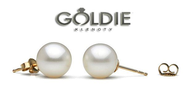 Nežná elegancia na každú príležitosť.😉😍 Náušnice s pravou perlou  rozžiaria tvár d82614dabeb