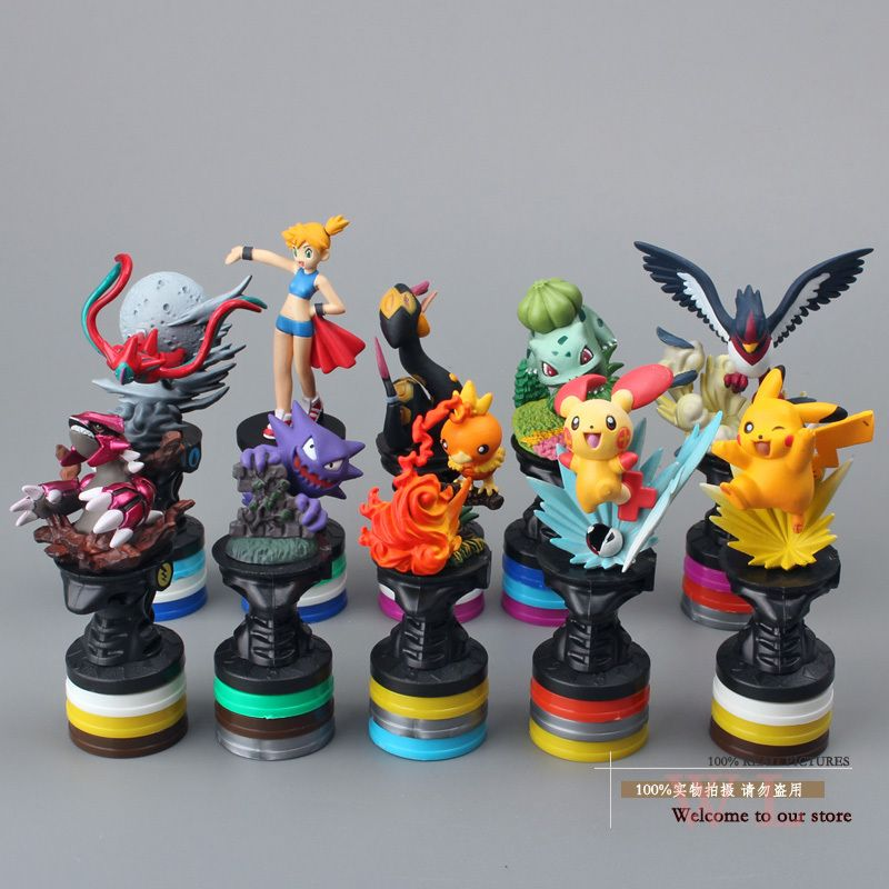 Free Shipping Anime Cartoon Monster Pikachu PVC Action Figure Collection Model Toys Dolls Classic Toys 10pcs/set PKFG228 //Price: $US $15.11 & FREE Shipping //     #rchelicopters