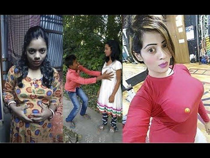 24 Funny Tiktok Pics You Will Make A Laugh Haha Trolls Viral Videos Funny Edm Girls Funny Gif