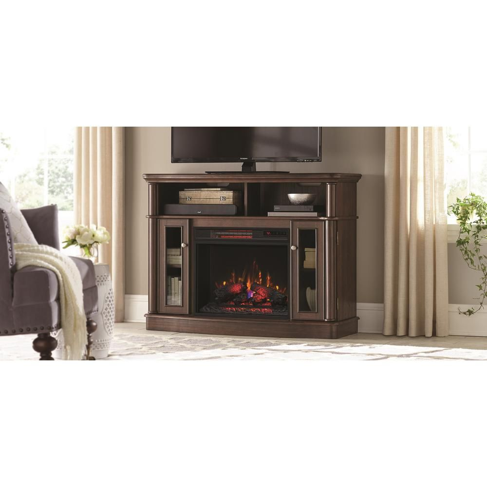 Home Decorators Collection Tolleson 48 In Tv Stand Electric
