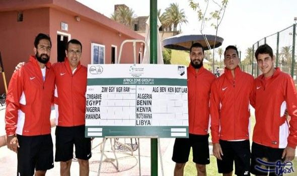 مصر تلتقي منتخب نيجيريا في بطولة كأس ديفيز لتنس الرجال Benin Nigeria Kenya