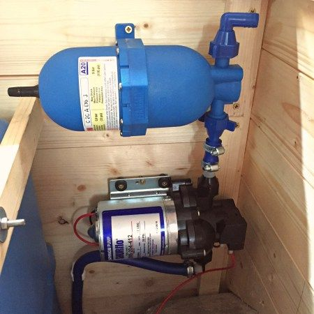 Van Conversion Water System Pump And Accumulator Running Ford Transit