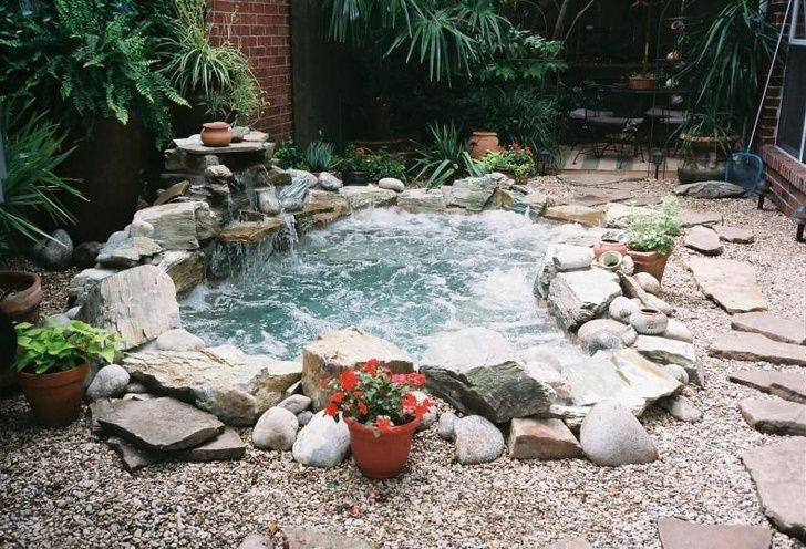 Awesome DIY Garden Hot Tub Designs    Curated By: Desert Pools And Spas