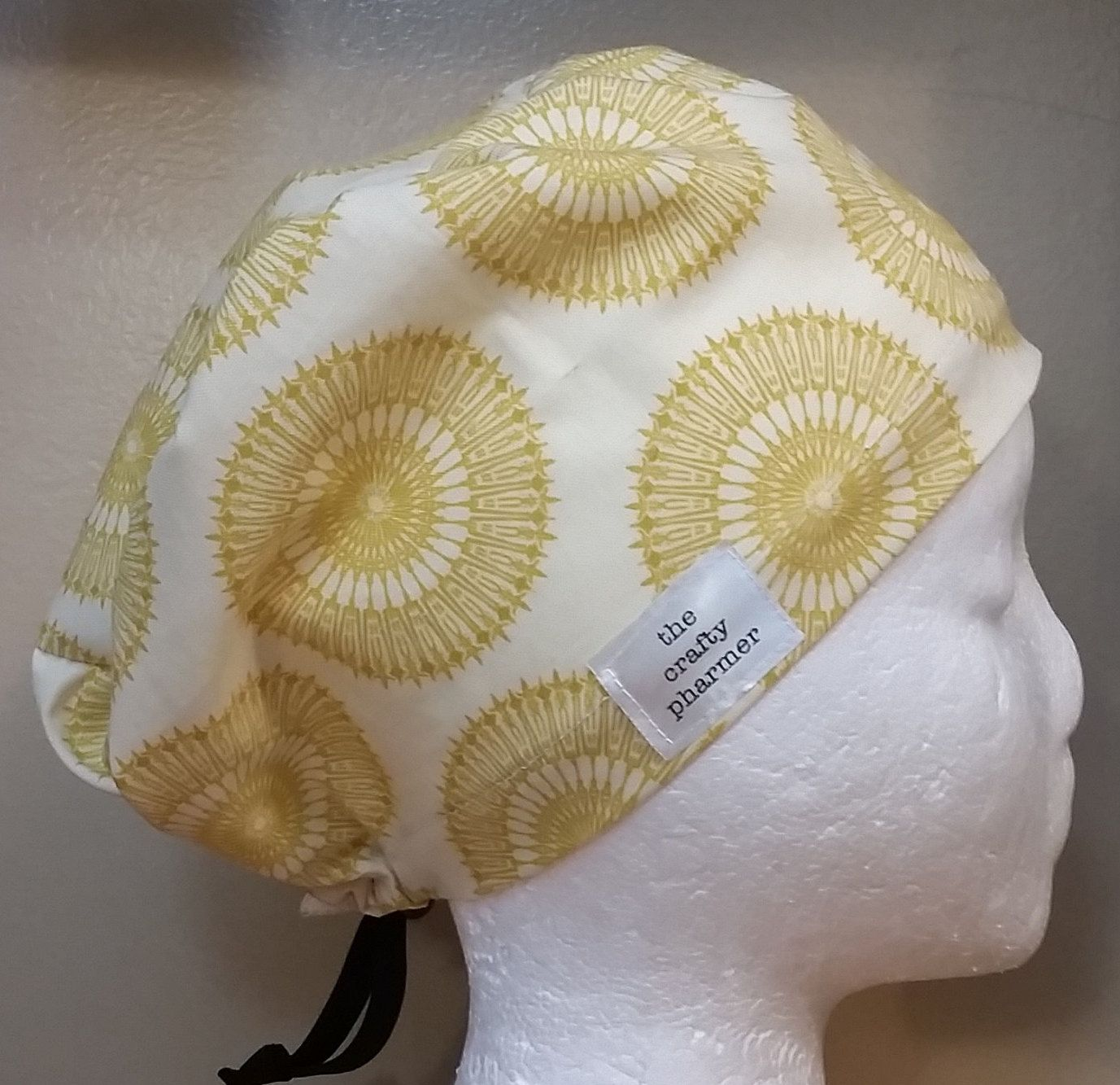 015f6853e1ec6 Excited to share the latest addition to my  etsy shop  Yellow Medallions on  Cream