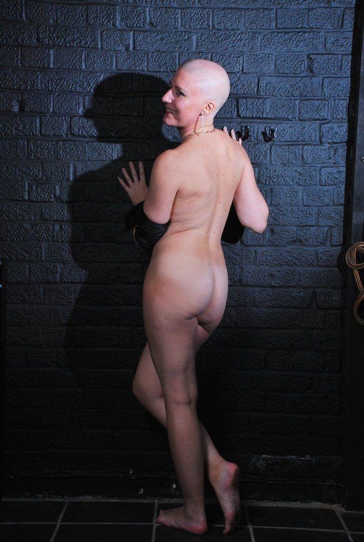 Naked girls shaved head