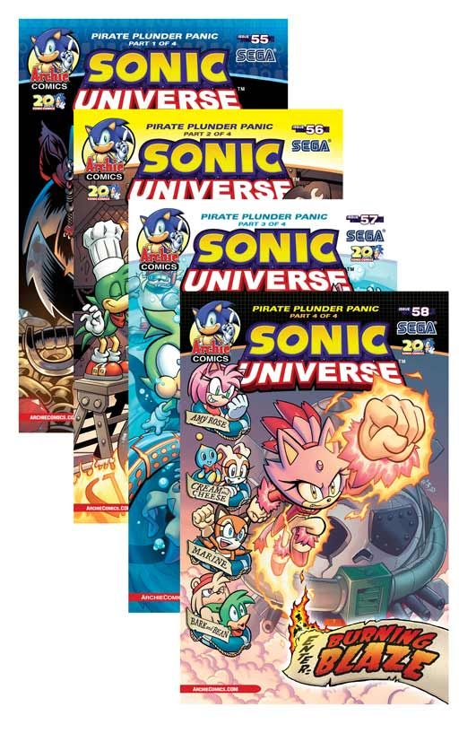 sonic universe pirate plunder buy it now at the archie comics