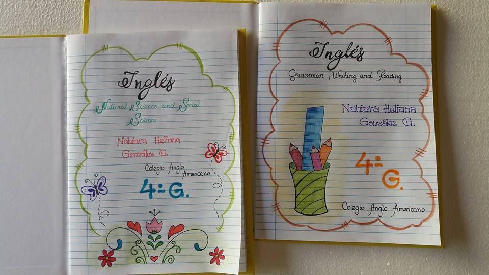 Caratulas Para Cuadernos De La Web Diy Back To School Page Design Christmas Stockings