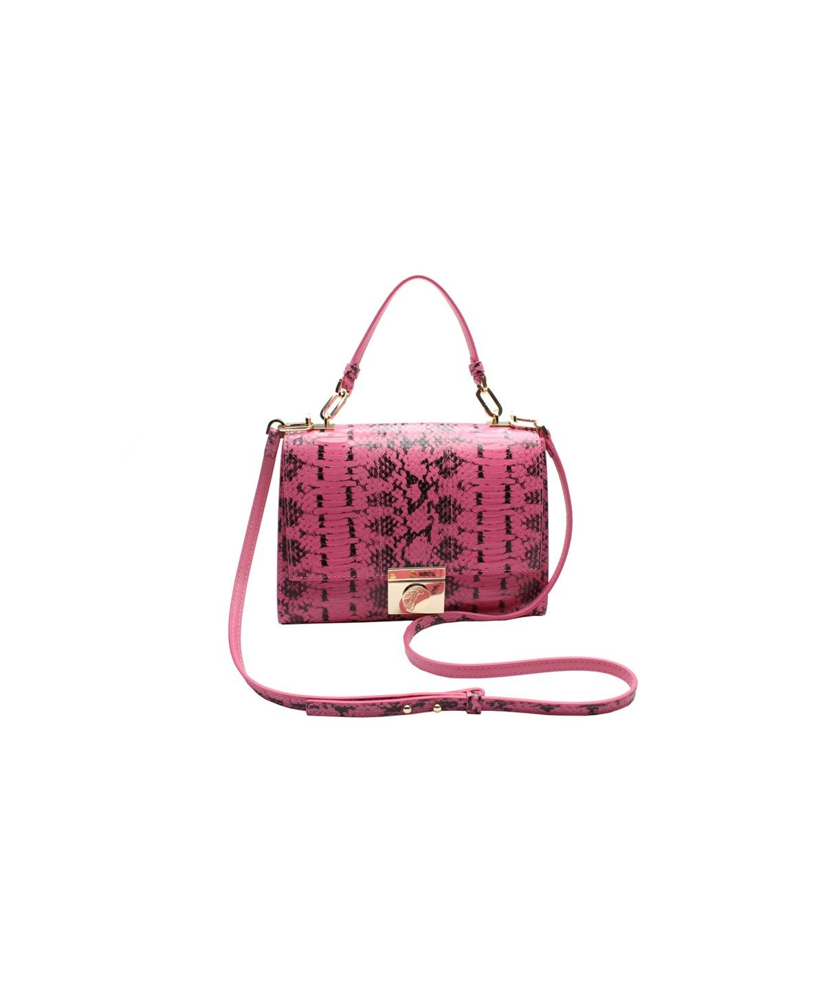 VERSACE VERSACE COLLECTION REPTILE PATTERN LEATHER SMALL SHOULDER HANDBAG .   versace  bags  shoulder bags  hand bags  leather   6c75800f3f7e3