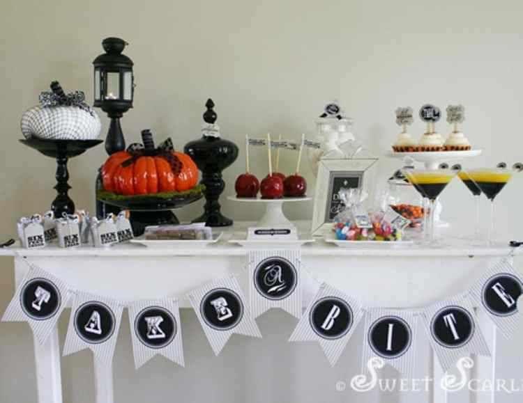 Resultado de imagen para mesas de halloween 18 Pinterest