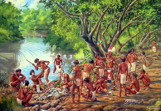 The Arawaks Taino Were Forced To Work In The Mines Instead Of