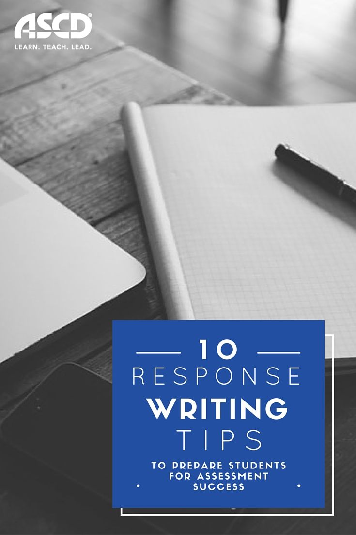 Response Writing Is A Critical Component For Success Across All