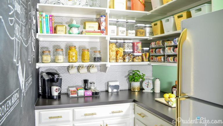 16 Idees Inspirantes Pour Organiser Votre Cellier Keukens Keuken Huis
