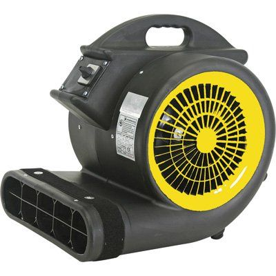Air Foxx Model Am4000a 1hp Air Mover Dryer Carpet Flooring Blower Fans Shop Vac