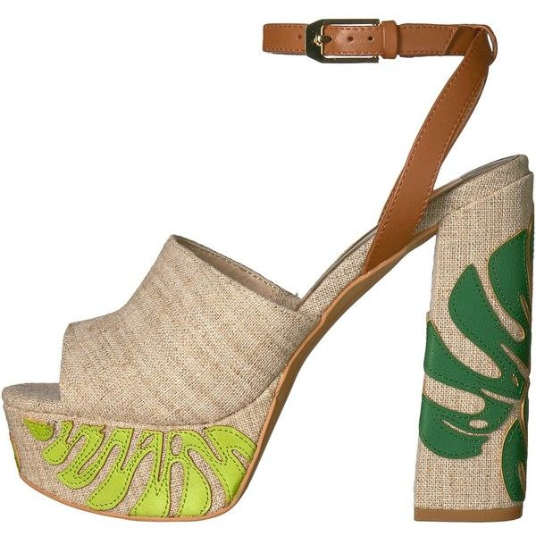 bfcf936b83b4 Dolce Vita Lando (Green Palm Print) Women s Shoes ( 160) ❤ liked on  Polyvore featuring shoes